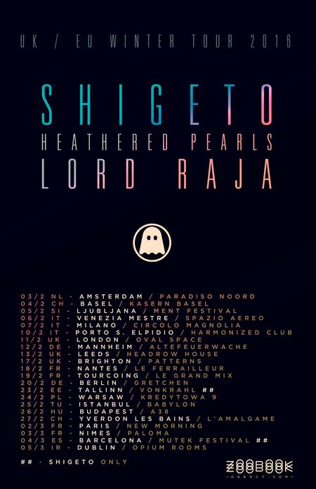 Ghostly eu tour 2016