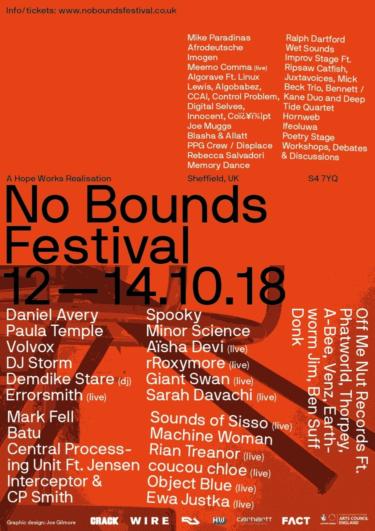 No bounds a3 poster small