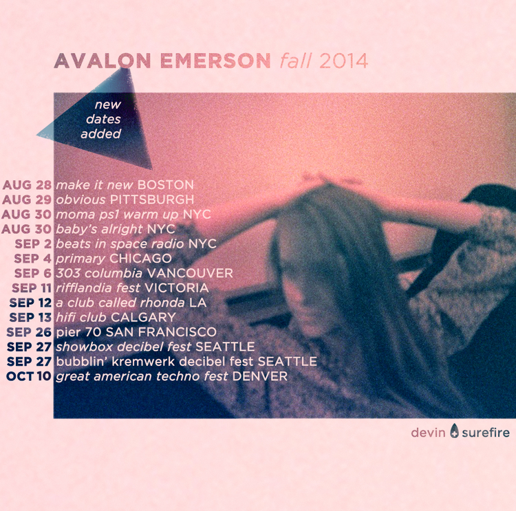 Avalon emersons north american tour