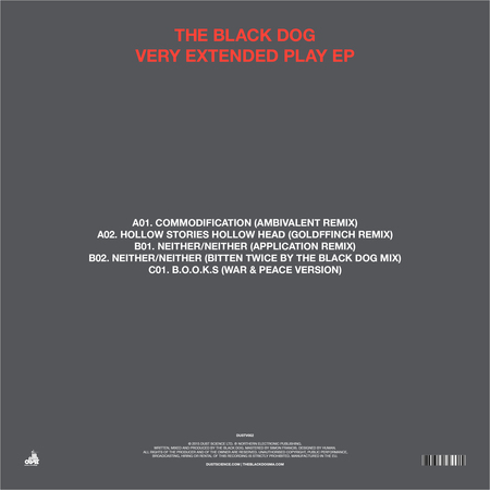 The black dog   very extended play ep