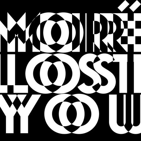 Artwork moire lostyou