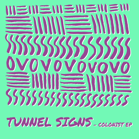 Artwork tunnelsigns colonistep