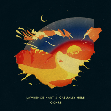Artwork lawrencehart casuallyhere ochre